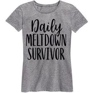 FINAL💵Boutique Daily Meltdown Survivor Tee, 1 M